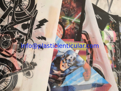 High Quality Lenticular T-shirts Hot Melt Adhesive 3d Flip Lenticular Stickers Printing On Clothes