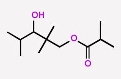 Texanol  2,2,4-Trimethyl-1,3-pentanediol monoisobutyrate  CAS:25265-77-4