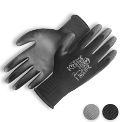 Empiral PU Coated Gloves Gorilla Black II  from SAMS GENERAL TRADING LLC