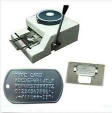 Tag Embossing Work Providers: FAS Arabia- 042343772 from FAS ARABIA LLC