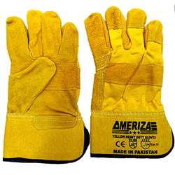 Ameriza Patch Palm Leather Gloves