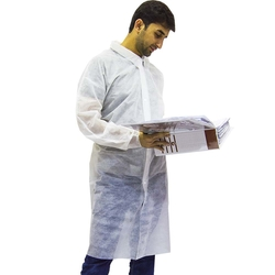 Empiral Disposable Lab Coat from SAMS GENERAL TRADING LLC