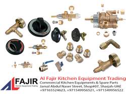 Gas Valves, Gas Regulators , Gas Fittings Suppliers In UAE from AL FAJIR KITCHEN EQUIPMENT TARDING