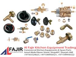 Gas Valves, Gas Regulators , Gas Fittings Suppliers In UAE from AL FAJIR KITCHEN EQUIPMENT TARDING