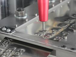 Metal engraving ang tag embossing from FAS ARABIA LLC