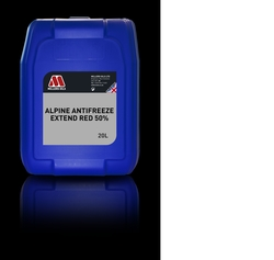 MILLERS -Alpine Antifreeze Extend Red 50%- UAE from MILLTECH