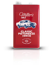 MILLERS-Classic Pistoneeze 10w30-UAE from MILLTECH