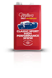 MILLERS -Classic Sport High Performance 20w50-UAE from MILLTECH