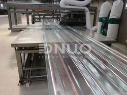 Fiberglass Fiber Roving FRP Roofing Corrugated Sheet Making Machine