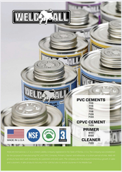 Weld All USA- PVC,CPVC Cement, Primer, Cleaner from ALASKA TRADING LLC