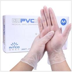 Aed 40 Medical Vinyl Examination Gloves Medium