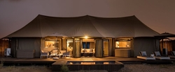 Luxury tents on the Arabian Sea coast from KINGFISHER RETREAT