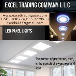 Led panel lights - Round and square