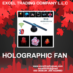HOLOGRAPHC FAN SUPPLIERS AND DEALERS IN ABUDHABI,AJMAN,RAS AL KHAIMA,SHARJAH,Umm Al Quwain,DUBAI from EXCEL TRADING COMPANY L L C