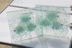 Bullet-proof glass
