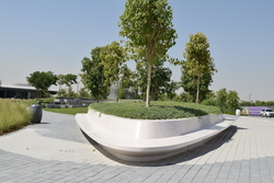 Cast stone Planter Box manufacturer in UAE from ALCON CONCRETE PRODUCTS FACTORY LLC