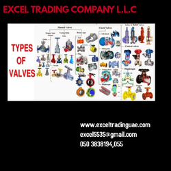 VALVES  from EXCEL TRADING COMPANY L L C