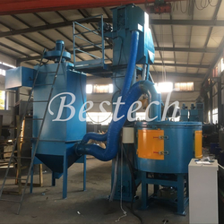 Rotary Table Shot Blasting Machine from QINGDAO BESTECH MACHINERY CO.,LTD