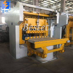 Hydraulic Pressure Sand Molding Machine for Foundry from QINGDAO BESTECH MACHINERY CO.,LTD