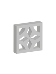 Claustra block supplier in Ras Al Khaima from ALCON CONCRETE PRODUCTS FACTORY LLC