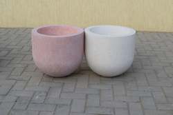 Concrete Planter pot supplier in Sharjah from ALCON CONCRETE PRODUCTS FACTORY LLC