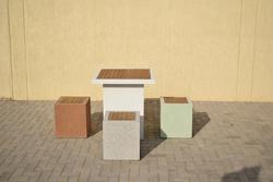 Precast Concrete Street Furniture Supplier in Dubai from ALCON CONCRETE PRODUCTS FACTORY LLC