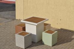 Precast Concrete Street Furniture Supplier in Al Ain from ALCON CONCRETE PRODUCTS FACTORY LLC