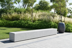 Cast Stone bench supplier in Dubai from ALCON CONCRETE PRODUCTS FACTORY LLC