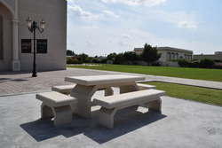 Concrete Street Furniture supplier in Saudi Arabia from ALCON CONCRETE PRODUCTS FACTORY LLC