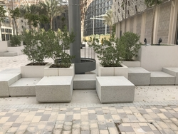 Cast Stone Seat supplier in Kuwait from ALCON CONCRETE PRODUCTS FACTORY LLC