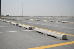 Precast Concrete Car Stopper supplier in UAE from DUCON BUILDING MATERIALS LLC