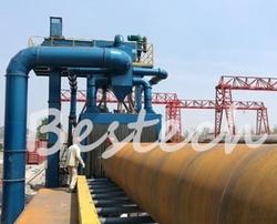 Roller Conveyor Shot Blasting Machine for Steel pipe