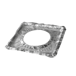 8.5inch Disposable Aluminum Foil Stove Cover Liners