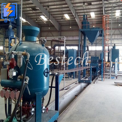 Steel Tube Rust Removal Shot Blasting Machine from QINGDAO BESTECH MACHINERY CO.,LTD