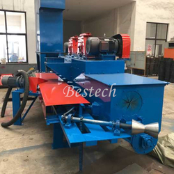 Steel Tube Outer Wall Rust Removal Shot Blasting Machine from QINGDAO BESTECH MACHINERY CO.,LTD