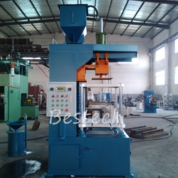 Horizontal Parting Cold Sand Core Shooter from QINGDAO BESTECH MACHINERY CO.,LTD