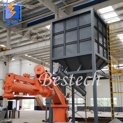 Foundry No Bake Resin Sand Regeneration Production Line from QINGDAO BESTECH MACHINERY CO.,LTD