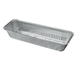 1030ml Rectangle Aluminum Foil Food Containers Disposable Aluminium Food Tray With A Lid