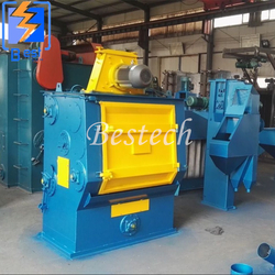 Tumble Belt Shot Blasting Machine for Brass from QINGDAO BESTECH MACHINERY CO.,LTD