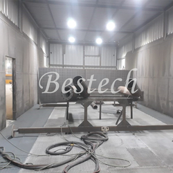 Manual Type Sand Blasting Room from QINGDAO BESTECH MACHINERY CO.,LTD