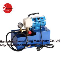 pressure test pump (electric & manual)