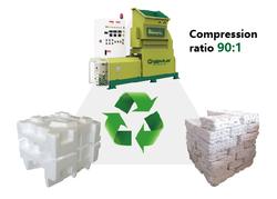 Recycling Machine Greenmax M-c200 Foam Densifier
