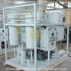 Sino-nsh Turbine Oil Purifier Plant Oil Filtraiton Plant