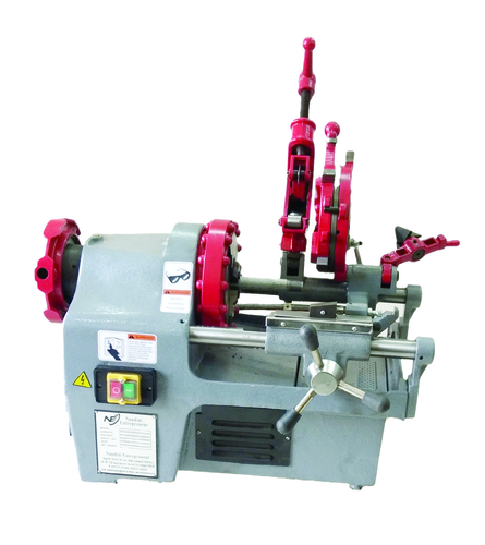 NANDINI PIPE THREADING MACHINE WITH NIPPLE CHUCK ASSEMBLY