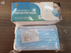 al zain civil disposable masks and 3 ply surgical mask