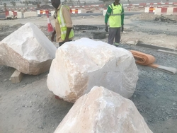 White Boulders / Armour / Rock / Natural