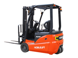 ELECTRIC FORKLIFT - BATTERY OPERATED - LIT ...