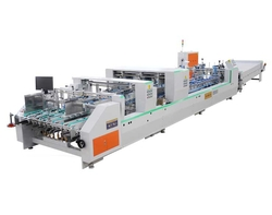 High-Speed Automatic Folder and Gluer