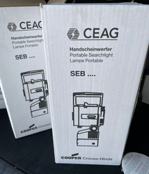 Ceag explosionproof searchlight SEB8L