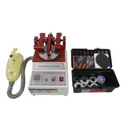 Factory Price Taber Abrasion Resistance Tester Paint Coating Wear Test Machine